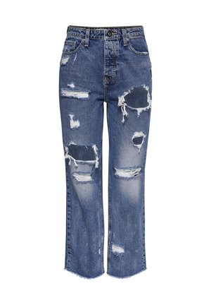 ONLROXY LIFE  - Straight leg jeans - medium blue denim