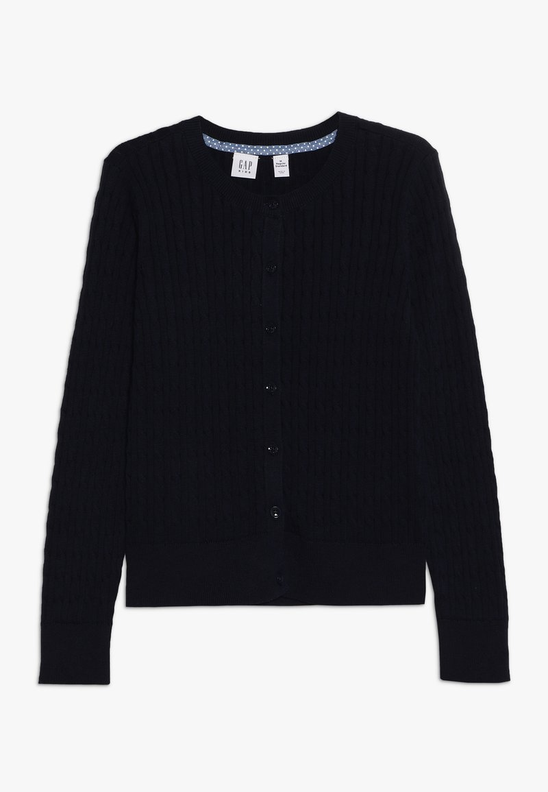 GAP - GIRLS UNI CABLE CARDI - Cardigan - true indigo