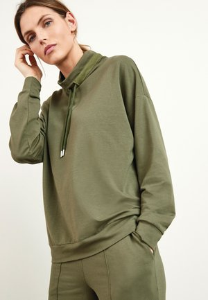 HIGH NECK  - Sweatshirt - khaki