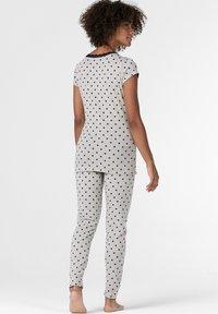 Esprit Maternity - MIT PRINT - Nattøj trøjer - light grey melange - 2