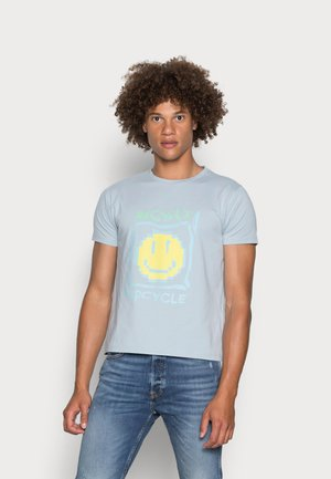 PIXEL RELAXED FIT - Print T-shirt - blue