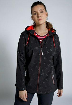 WEAR PLUS SIZE CRANE STRETCH - Outdoor jacket - black multi