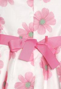 happy girls - Vestido de cóctel - weiß/ pink - 4