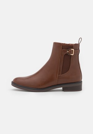 AUDREY BOOTIE - Classic ankle boots - toffee