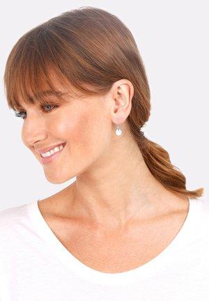 GEO MINIMAL LOOK - Earrings - silver-coloured
