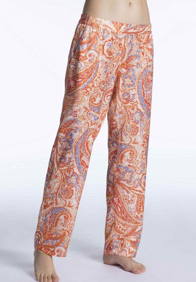 PRISCA - Pyjama bottoms - powder orange