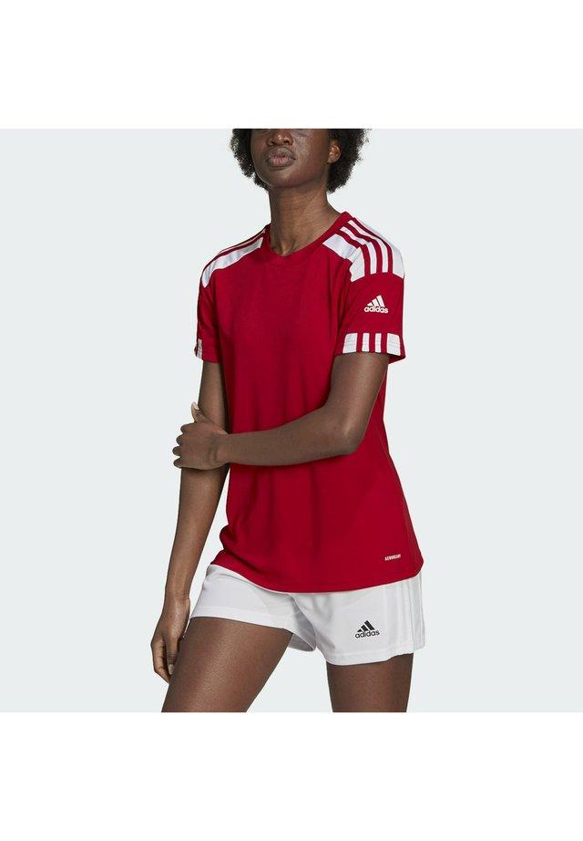 SQUADRA 21 - Print T-shirt - team power red white