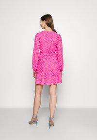 Never Fully Dressed - RAINBOW SPOT MINI DRESS - Denní šaty - pink - 2
