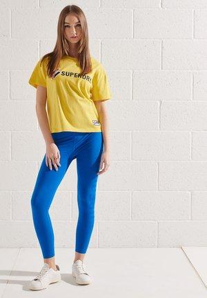 Print T-shirt - nautical yellow