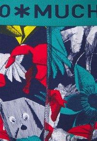MUCHACHOMALO - PAPER 5 PACK - Boxerky - black/dark blue - 6
