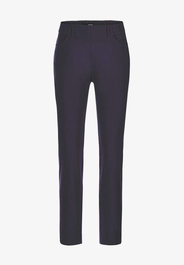 INULA-742 14060 STRETCHHOSE MIT TASCHEN - Trousers - blau