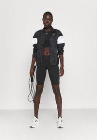 Reebok - LINEAR LOGO JACKET - Training jacket - black - 1