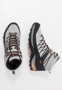 CMP - RIGEL MID TREKKING SHOES WP - Hiking shoes - cemento/nero - 1