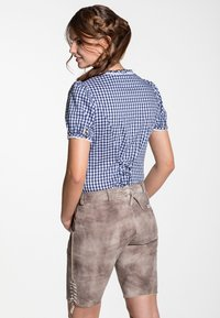 Spieth & Wensky - GUNDA  - Leather trousers - light brown - 1