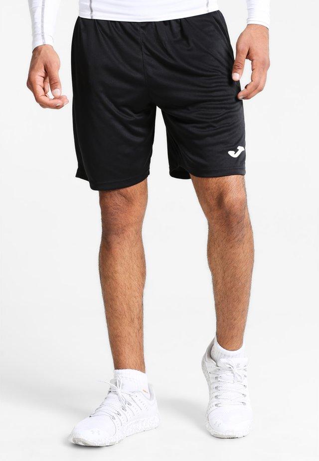 NOBEL - kurze Sporthose - schwarz