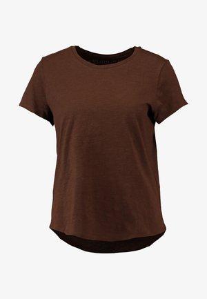 THE CREW - T-shirt basic - coffee bean