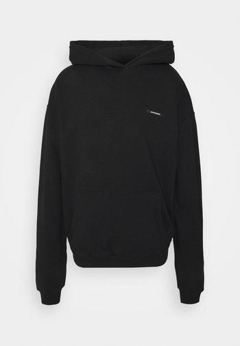 HORSES HOODIE UNISEX - Sweatshirt - black