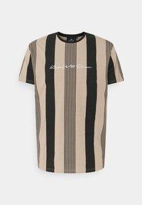 Kings Will Dream - VEDLO - Print T-shirt - jet black/dark sand - 4