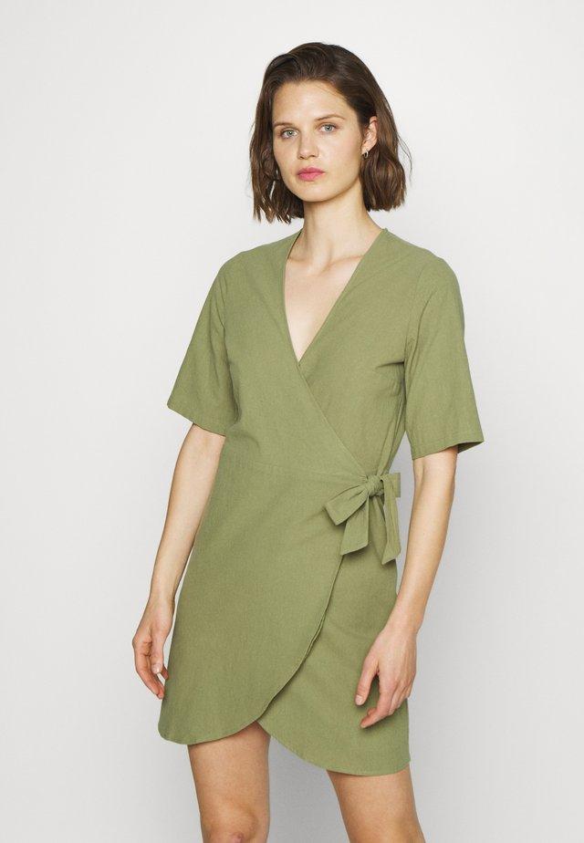 BRENNA DRESS - Kjole - loden green