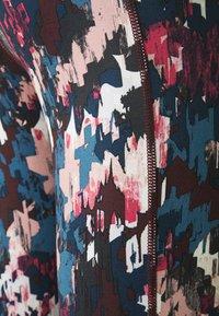 Sweaty Betty - SUPER SCULPT 7/8 YOGA LEGGINGS - Leggings - blue abstract - 2
