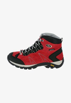 BONA - Lace-up ankle boots - red
