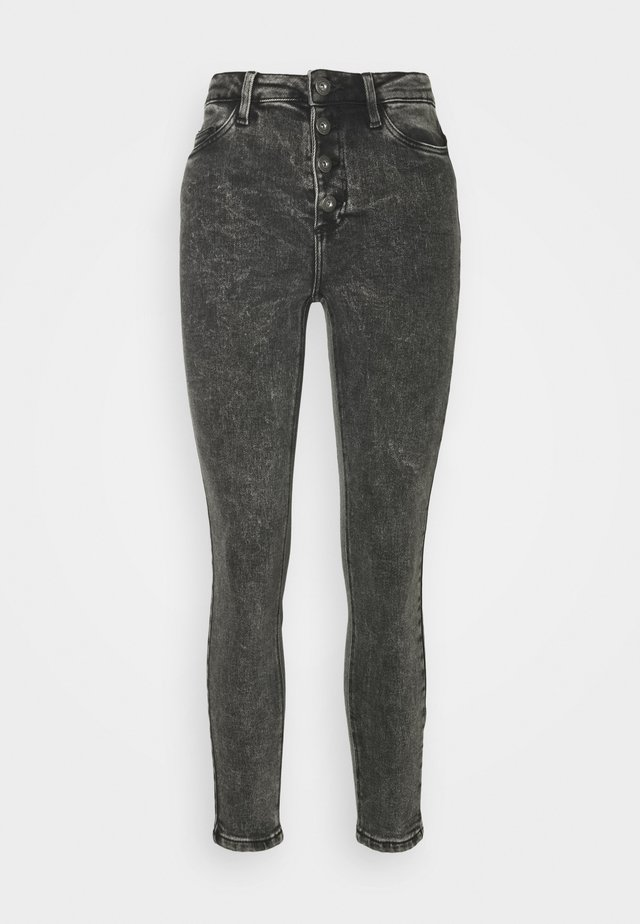 NMCALLIE CHIC ACID - Jeans Skinny Fit - black
