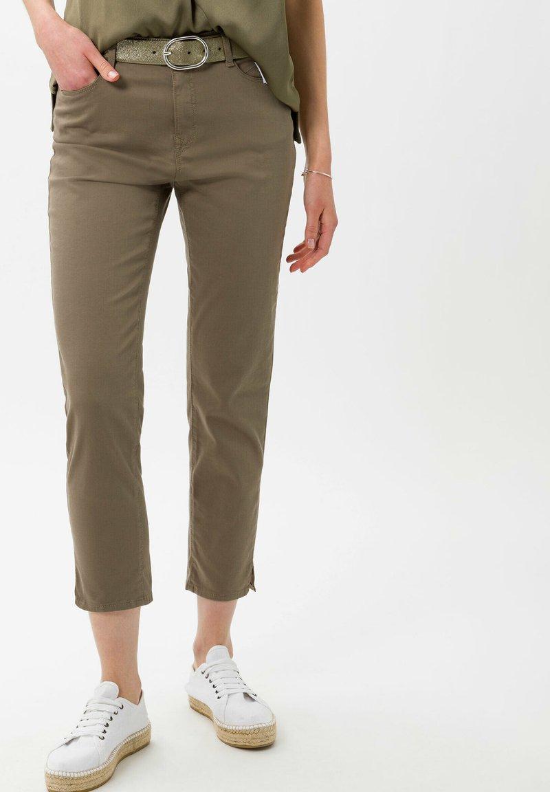 BRAX - STYLE MARY  - Trousers - khaki