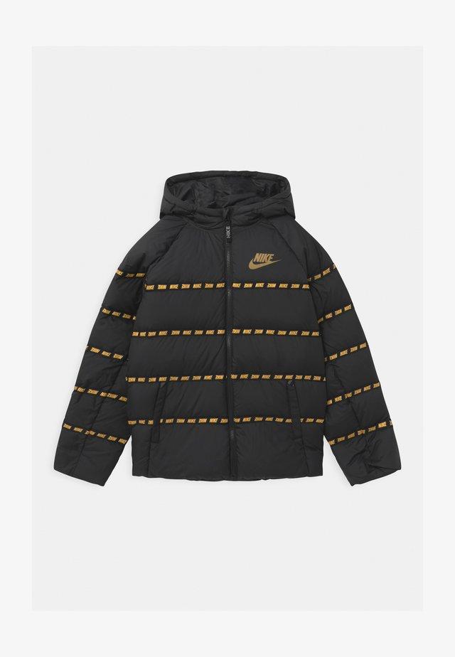 UNISEX - Lehká bunda - black/metallic gold