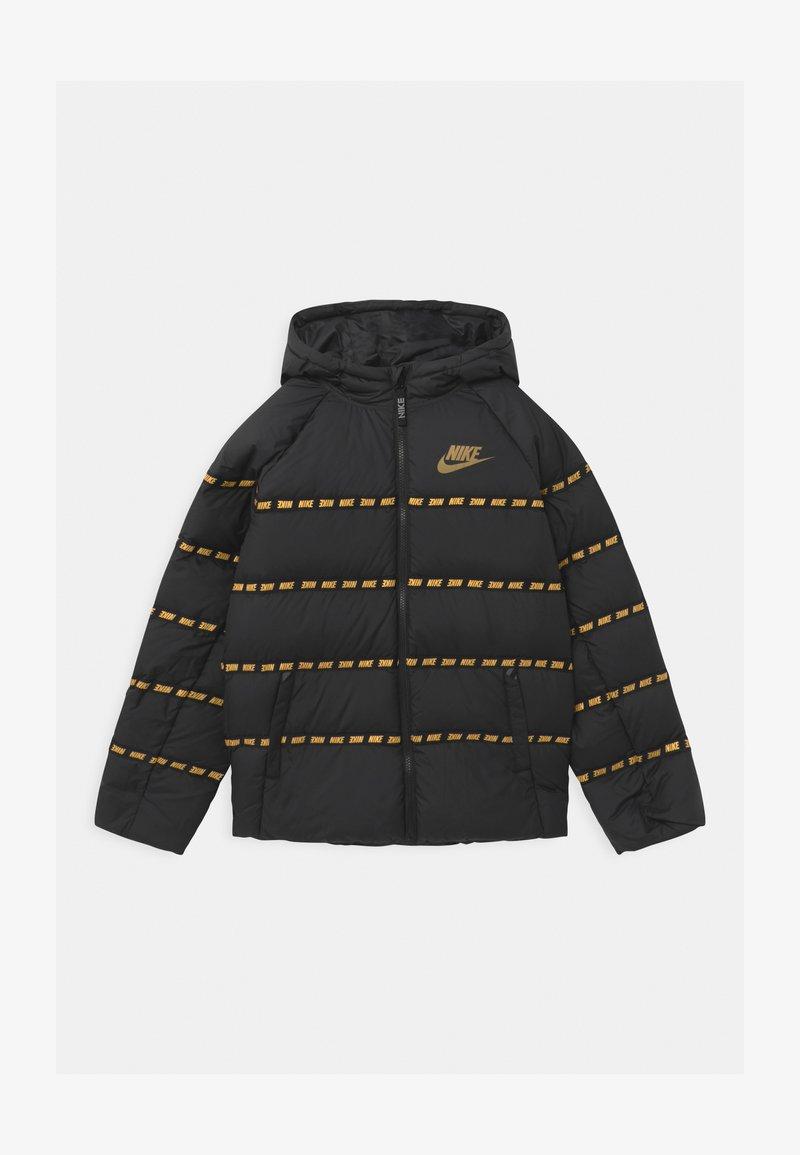 Nike Sportswear - UNISEX - Light jacket - black/metallic gold
