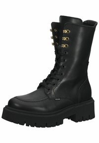 Steven New York - Lace-up boots - black leather - 2