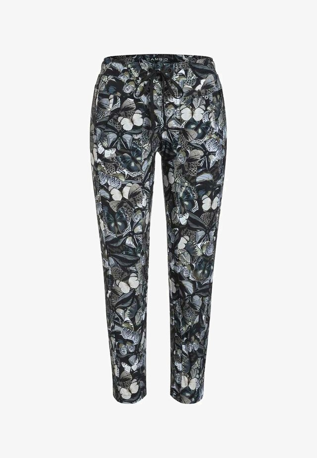 JORDEN SEAM - Trousers - dark shaded butterfly camouflage