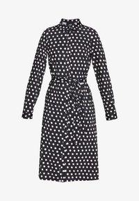Wallis - SPOT DRESS - Sukienka z dżerseju - black/white - 3