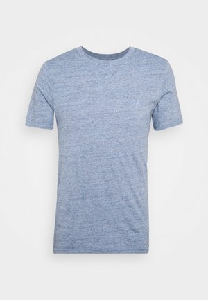 Camiseta básica - faded denim