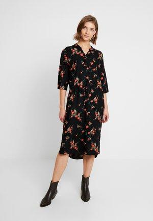 SLKINDRA ZAYA DRESS - Skjortklänning - black