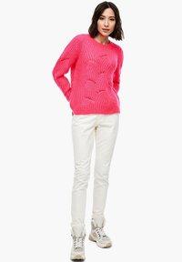 s.Oliver - Jumper - neon pink - 1