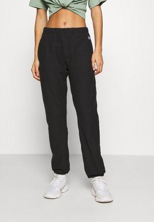 ELASTIC CUFF PANTS - Pantaloni sportivi - black