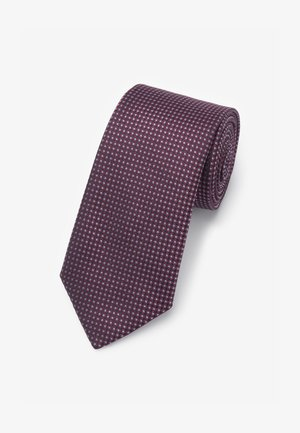 MADE IN ITALY - Tie - dark purple