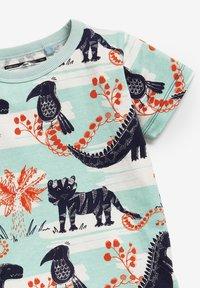 Next - Print T-shirt - light blue - 2