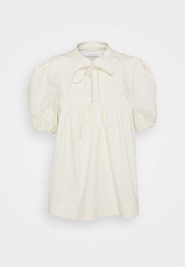 Blusa - pristine white