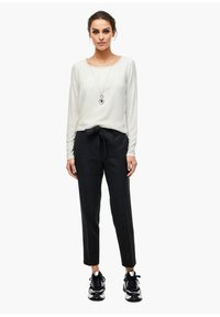 s.Oliver BLACK LABEL - Long sleeved top - soft white - 1