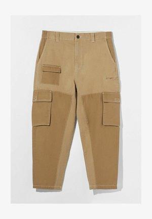 MIT PATCHWORK 00364335 - Cargobroek - beige