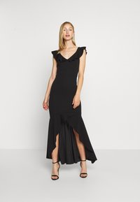 WAL G. - LAYERED HEM LONG DRESS - Occasion wear - black - 1