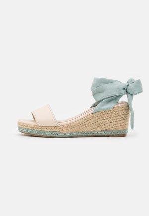 AUSTEN - Korkeakorkoiset sandaalit - menta