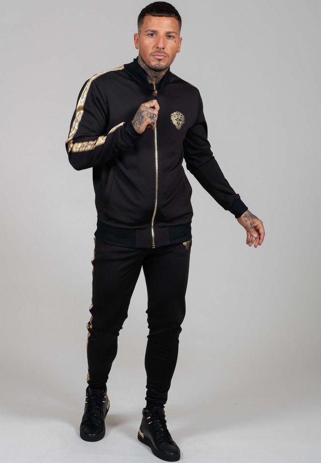 LOVE ED TRACK TOP - Vest - black