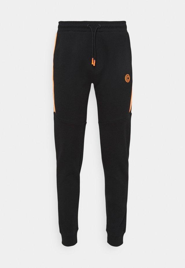 BRUZZ  - Teplákové kalhoty - black