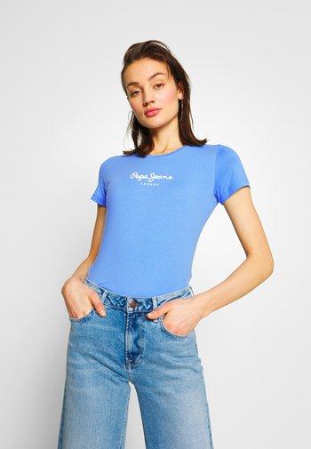 VIRGINIA NEW - Print T-shirt - ultra blue