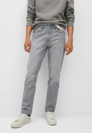 BOB - Jean droit - grigio denim