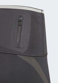 adidas by Stella McCartney - AEROREADY PRIMEBLUE CAPRI 3/4 TIGHT - Medias - black - 3