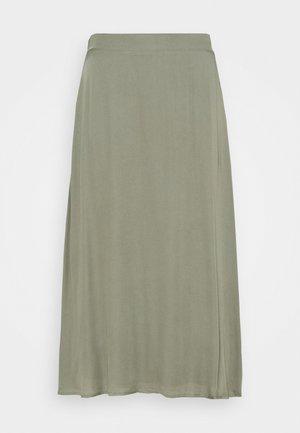 BAUMA AMATTA SKIRT - A-line skirt - moss