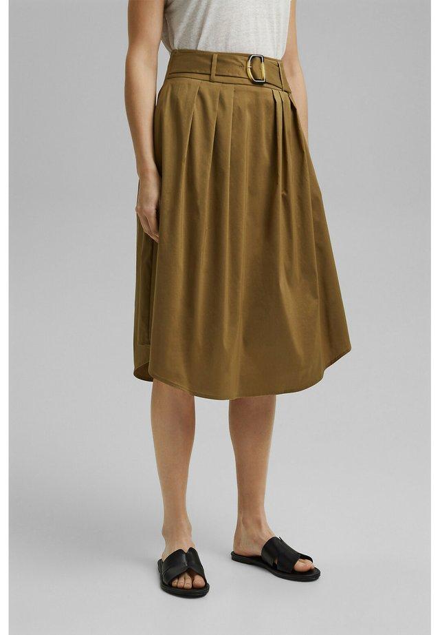 Áčková sukně - bark